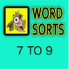 Word Sorts 7 to 9