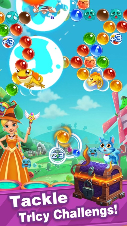 Bubble Shooter-New Pop Bubbles screenshot-2
