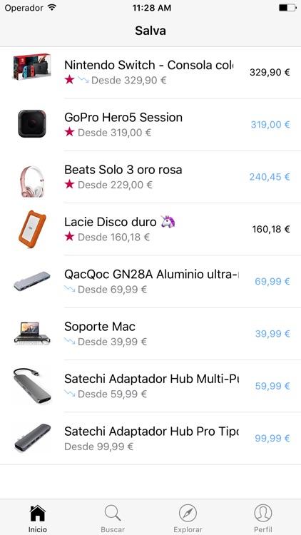 Salva. Alertas de descuentos Amazon. screenshot-0