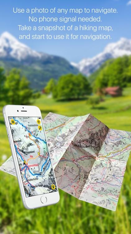 AnyMap TRUE Offline Navigation
