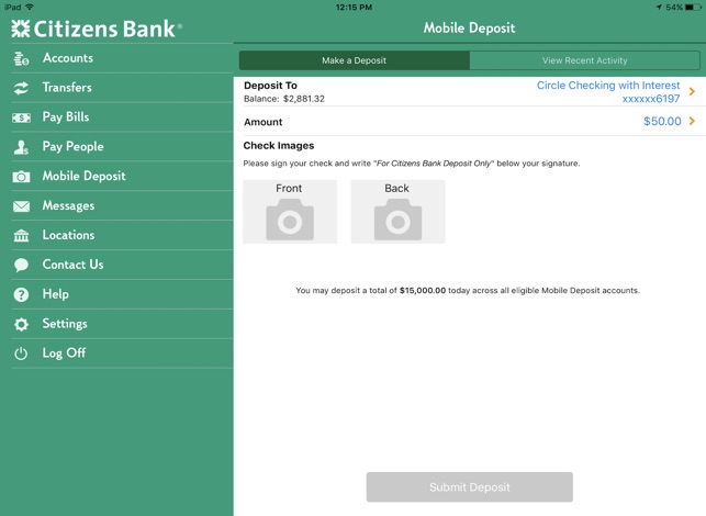 Citizens Bank Mobile Banking On The App Store
