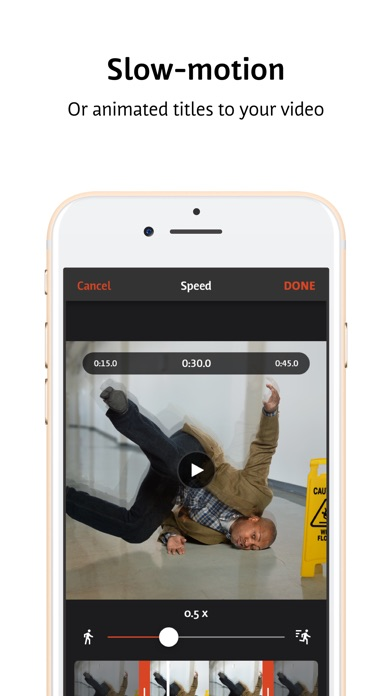 Videoshop - Video Editor app image