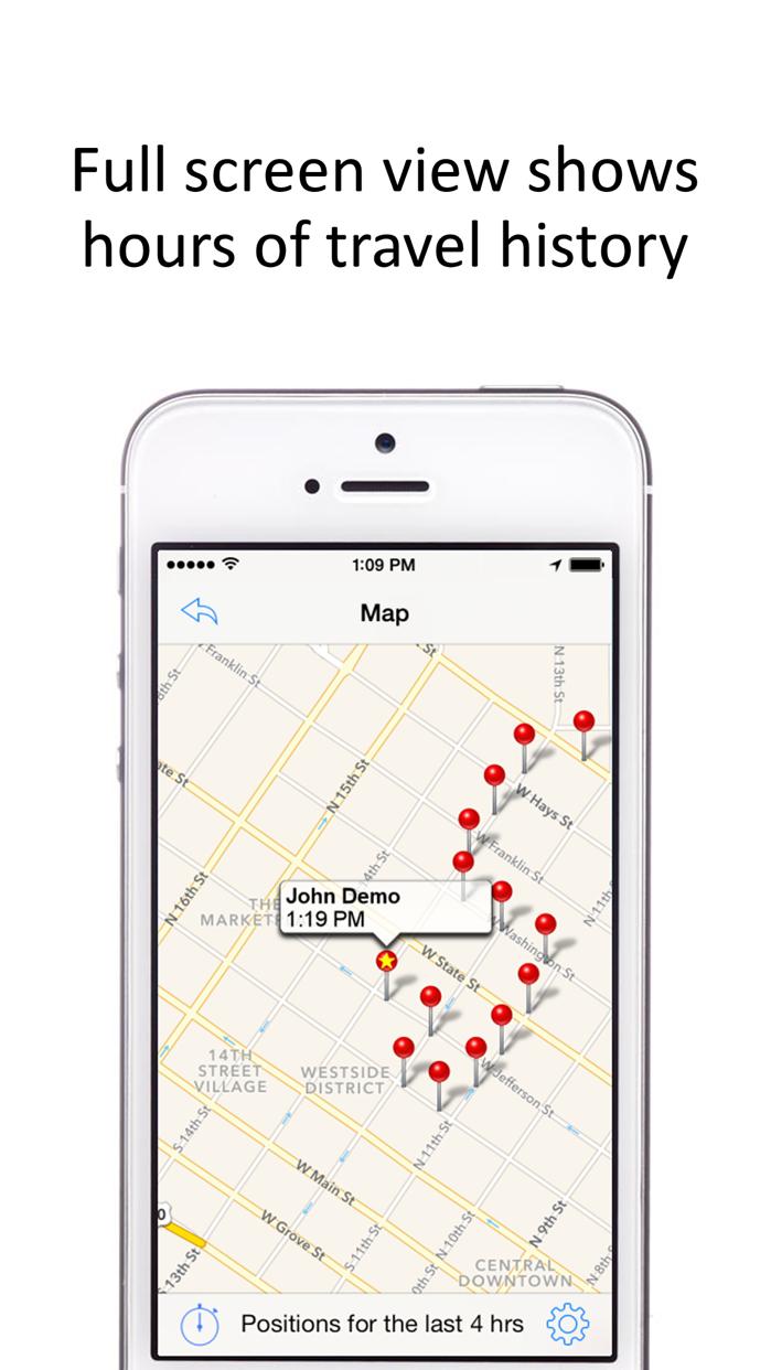 GPS Phone Tracker:GPS Tracking Screenshot