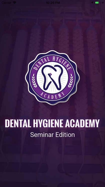 Dental Hygiene Academy Seminar screenshot-0