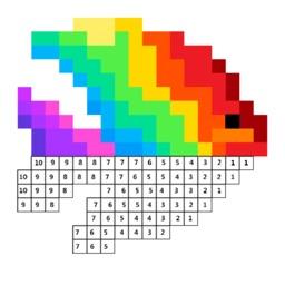 像素涂色-减压的涂色游戏
