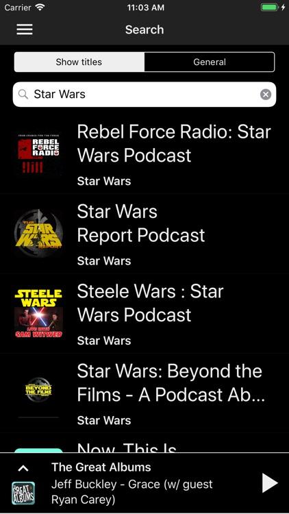 Yapa - Podcast Player screenshot-3
