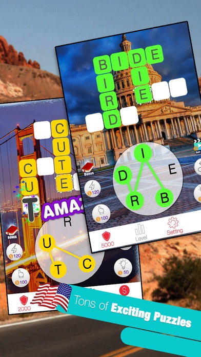 Image of American Word Match King for iPhone