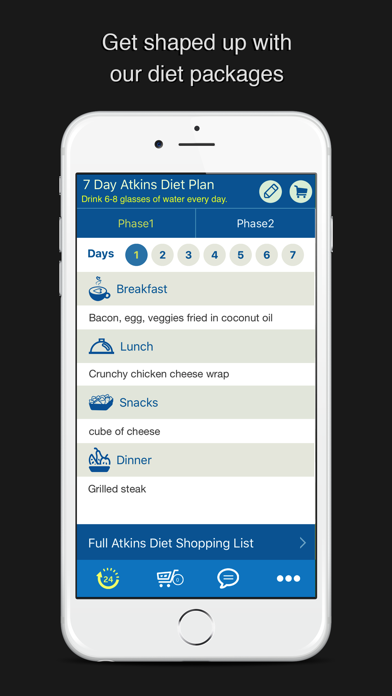 7 Day Atkins Diet Meal Planのおすすめ画像1