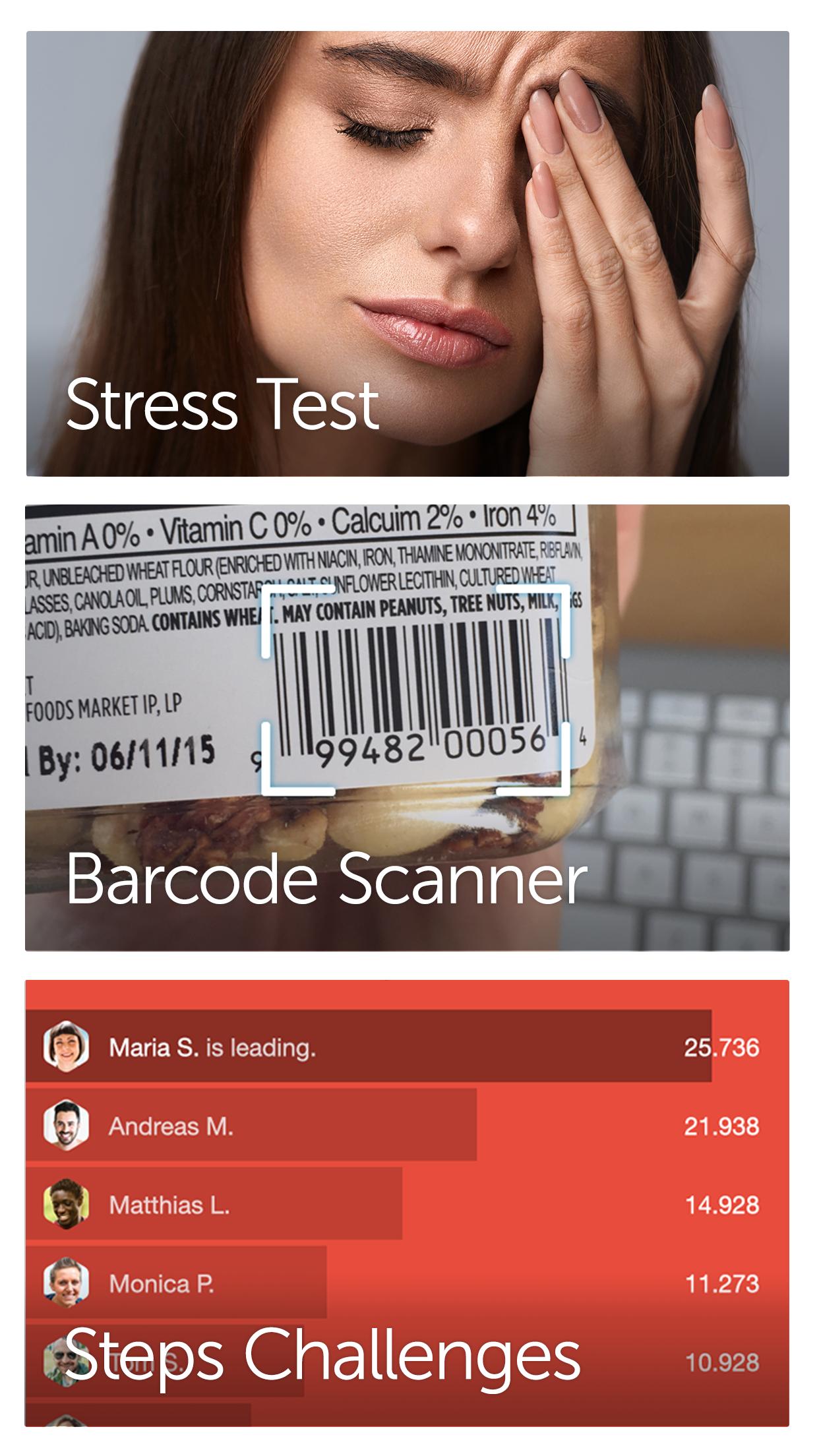 Argus: Calorie Counter & Steps Screenshot