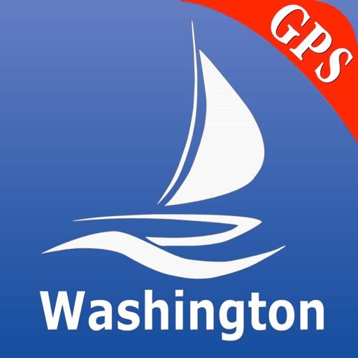 Washington Nautical Chart Pro