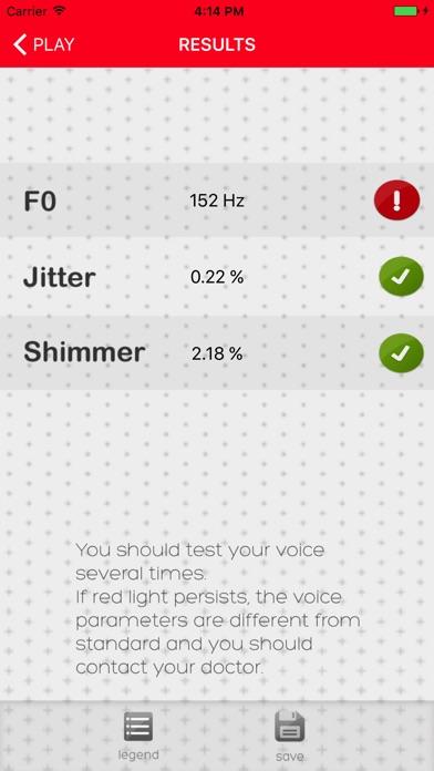 Voice Test review screenshots