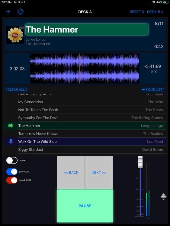 PlayBacker for iPad screenshot-5