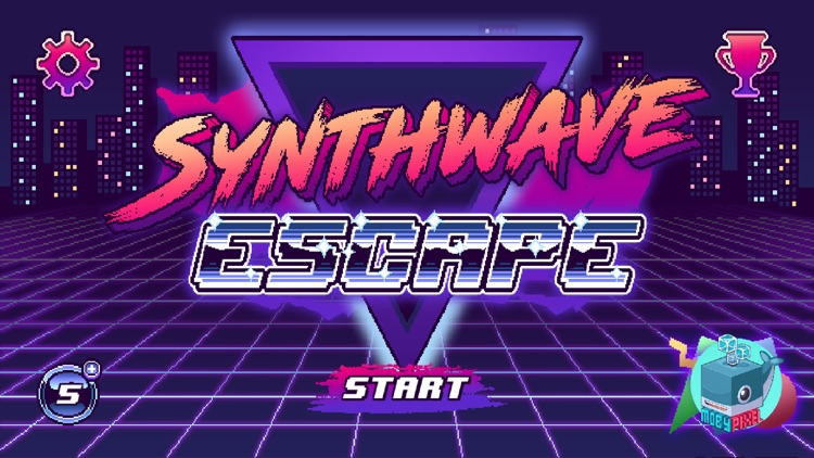 Synthwave Escape screenshot-4