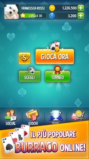 burraco gratis per ipad