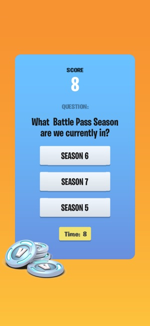 Vbucks Quiz For Fortnite On The App Store
