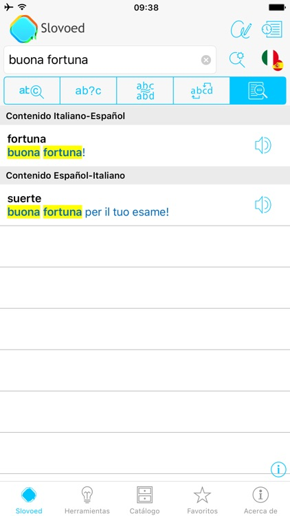 Italian <> Spanish Dictionary