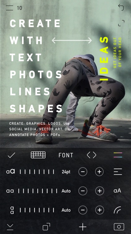 CREATE - Graphic Design + Draw