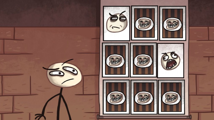Troll Face Quest Classic screenshot-1