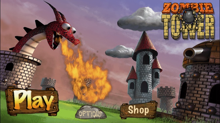 Zombie Tower Shooting Defense screenshot-0
