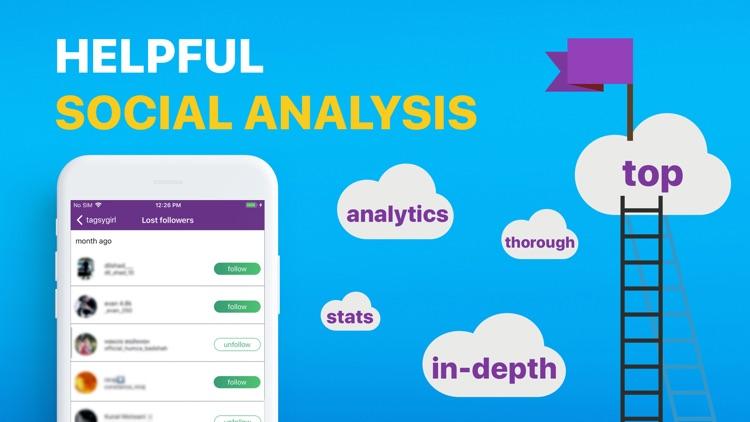 Tagsy: social media analytics screenshot-3