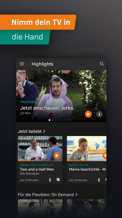 Zattoo - TV Streaming App screenshot-3