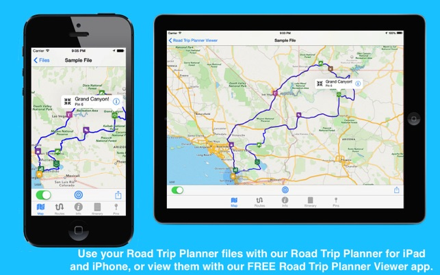 road trip planner on the mac app store