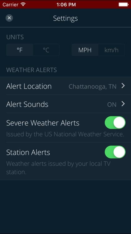 WDEF Storm Team 12 Weather screenshot-4