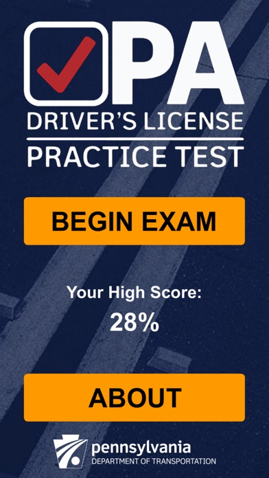 PA Driver's Practice Test for Windows