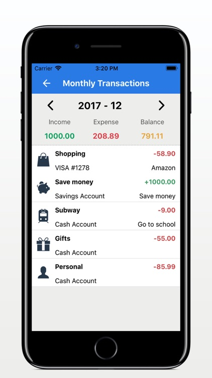 My Money Book-Expense Tracker screenshot-3