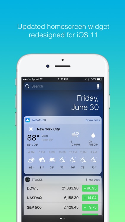 1Weather - Forecast, Radar, Widget & Alerts screenshot-4