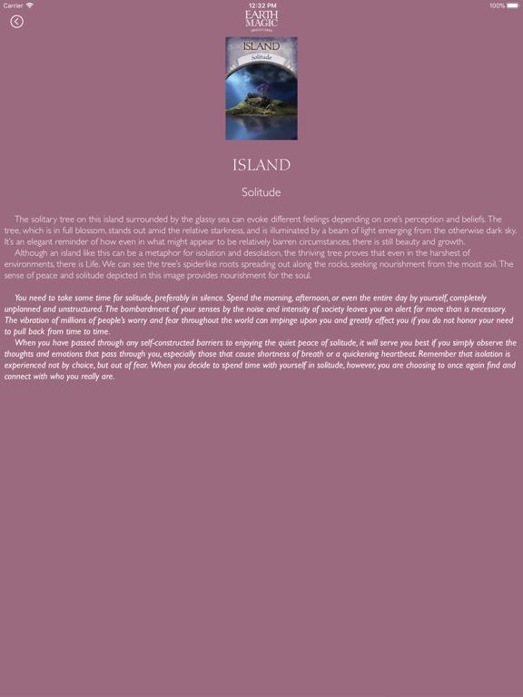 Earth Magic Oracle Cards screenshot 9