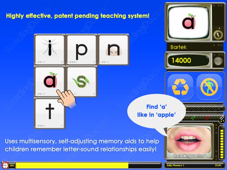 Letter Sounds 1 : Phonics Graphemes for Beginners
