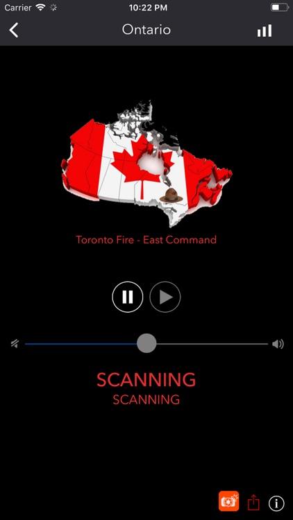 Canada Police Radio screenshot-3