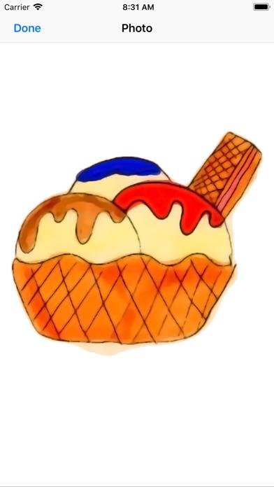 Kawaii! Ice Cream & Cake screenshot one