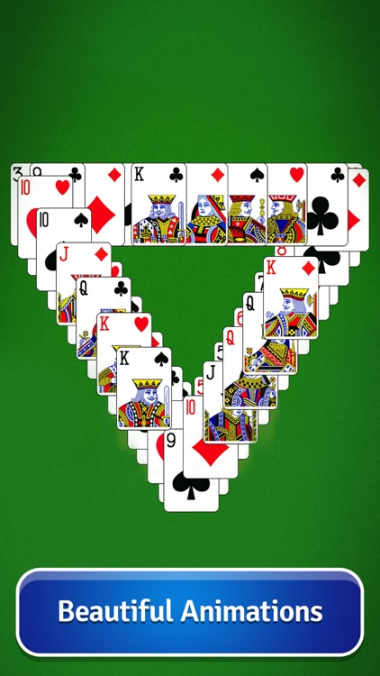 Pyramid Solitaire - Card Game screenshot-2