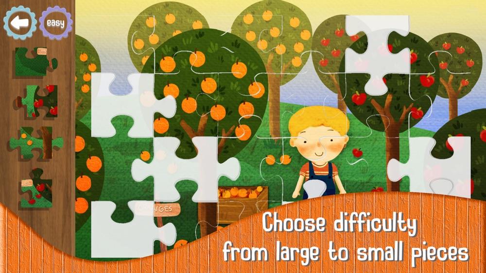 Kids Jigsaw Puzzles: Farm Cheat Codes