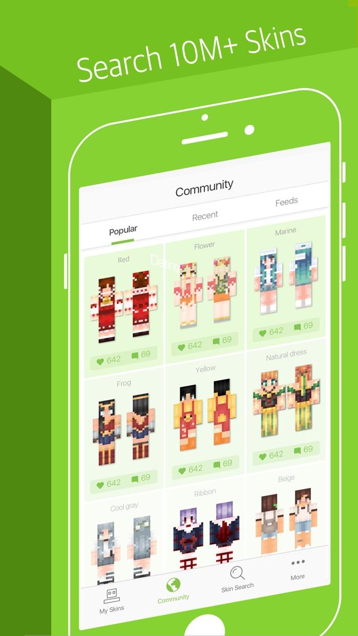 Skinseed - Skin Creator for Minecraft Skins Screenshot