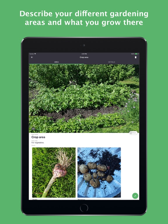 GARDENIZE - garden & plant app screenshot