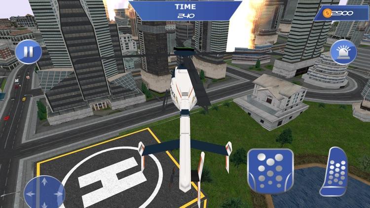 Fireman 911 Rescue Fire Truck screenshot-4