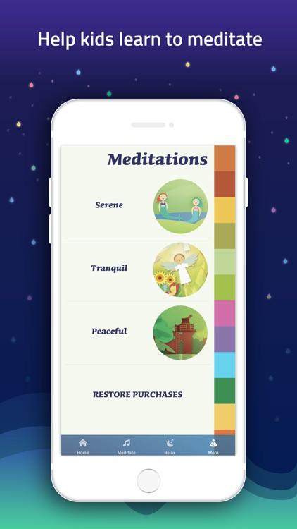 Meditation for Kids screenshot-3