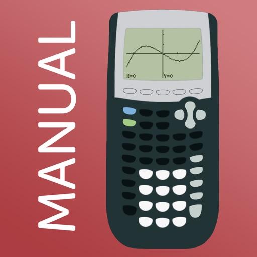TI 84 Graphing Calculator Man.