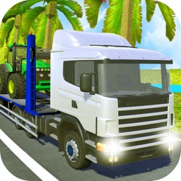 Climb Hill Truck Transport 3D