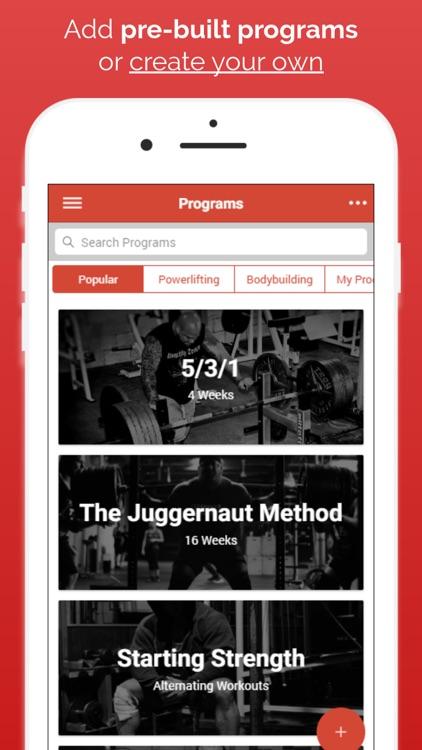 Intensity - Workout Journal screenshot-3