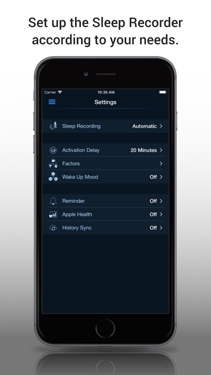 Prime Sleep Recorder screenshot-3