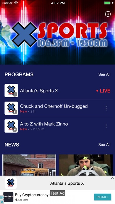 Atlanta's Sports X Screenshot
