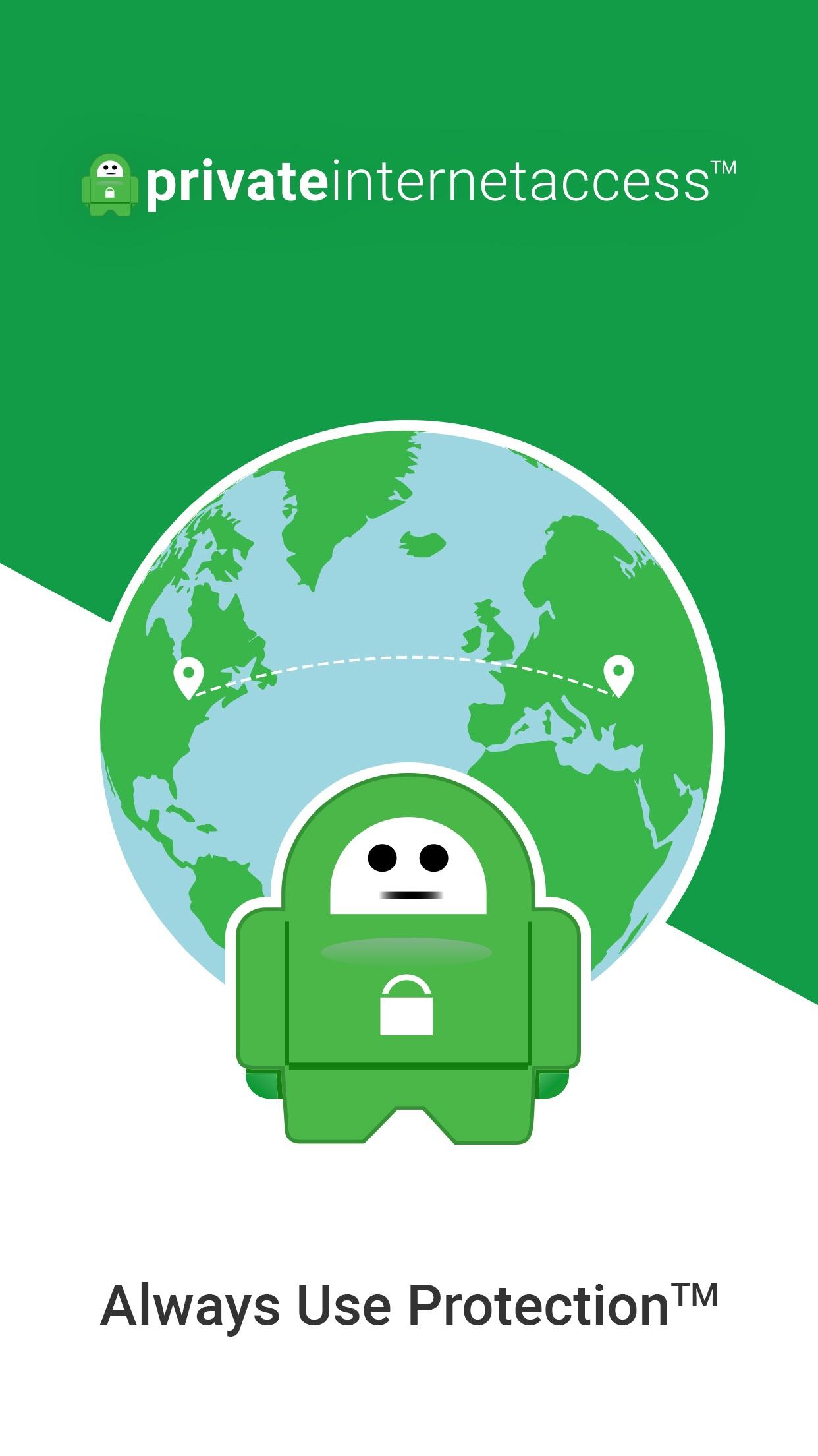 Private Internet Access VPN Screenshot