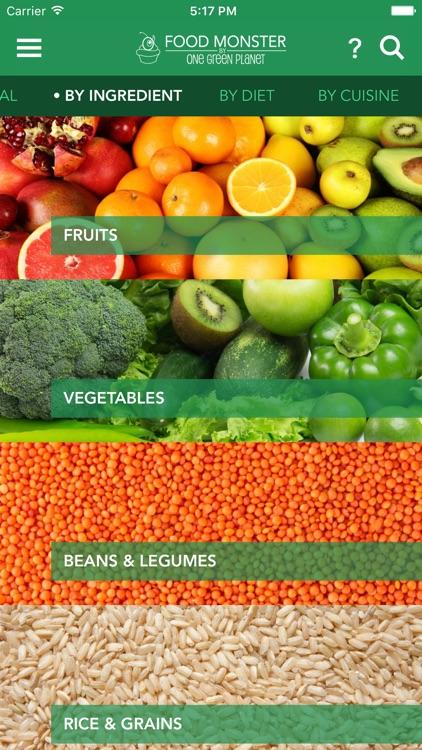Food Monster - Vegan Recipes screenshot-4