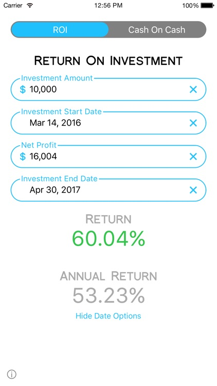 Cash On Calc - Investment Calc screenshot-3