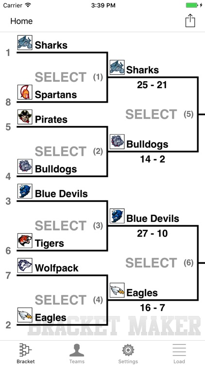 Bracket Maker Pro screenshot-0