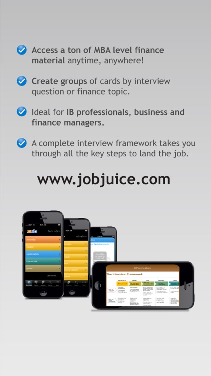 Jobjuice Fin. & Inv. Banking screenshot-4